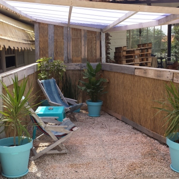 your own terrace